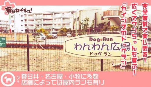 【春日井・名古屋】犬を運動させるならカインズで決まり!無料で楽しめるカインズのドッグランがすごいよ。